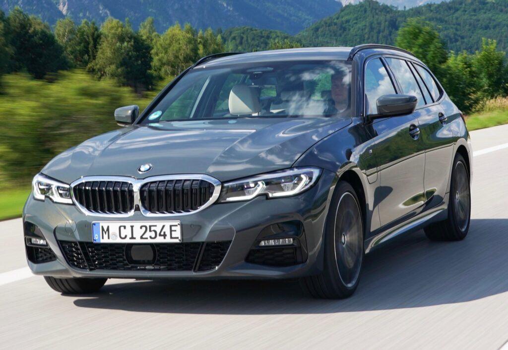 BMW seria 3 przód