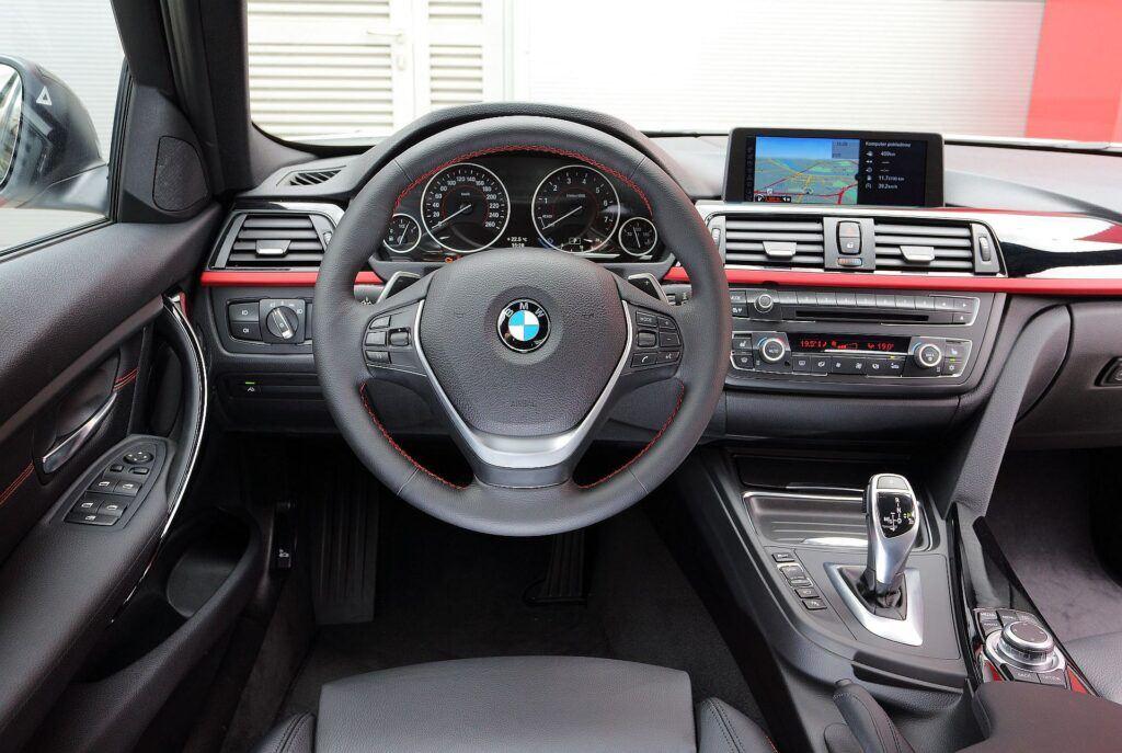 BMW serii 3 F30 deska rozdzielcza
