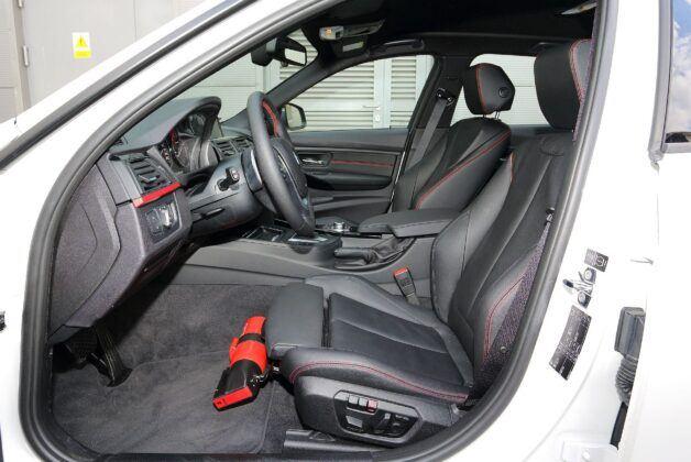 BMW serii 3 F30 fotel kierowcy