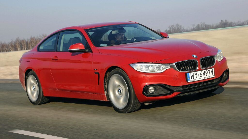 BMW 420d F32 Coupe Sport Line 2.0d 184KM 8AT WY6497V 01-2014