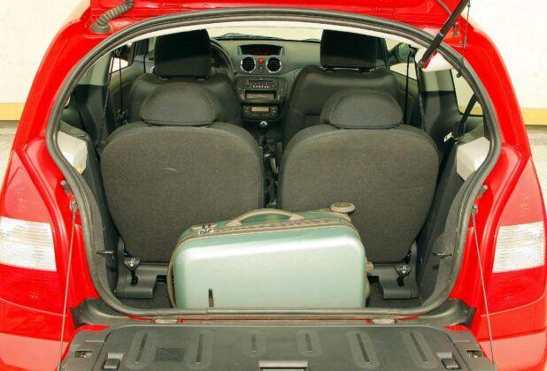 Citroen C2 bagażnik