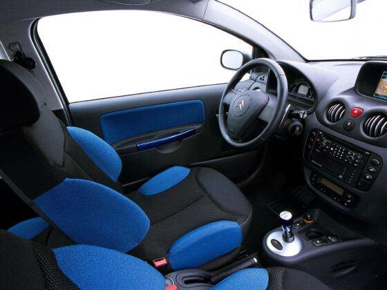 Citroen C2 fotel kierowcy