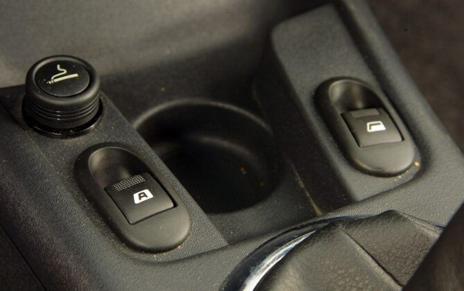 Citroen C2 przyciski szyb