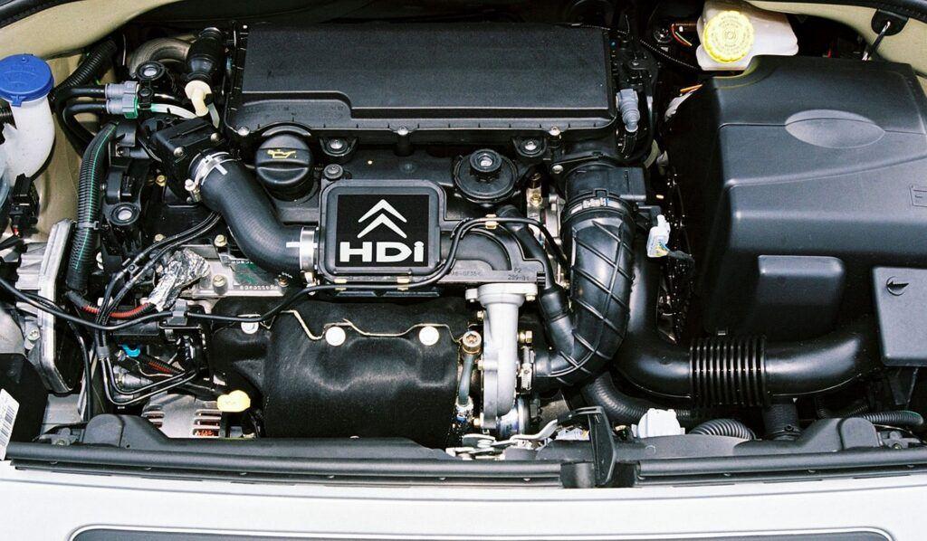 Citroen C2 silnik
