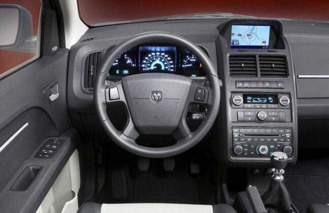 Dodge Journey deska rozdzielcza (2)