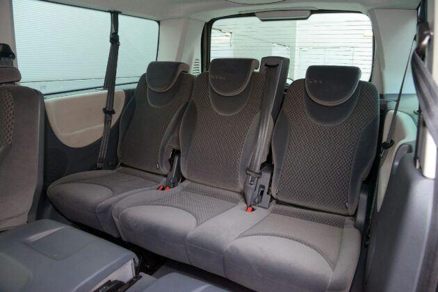 Fiat Scudo Citroen Jumpy Peugeot Expert trzeci rząd siedzeń