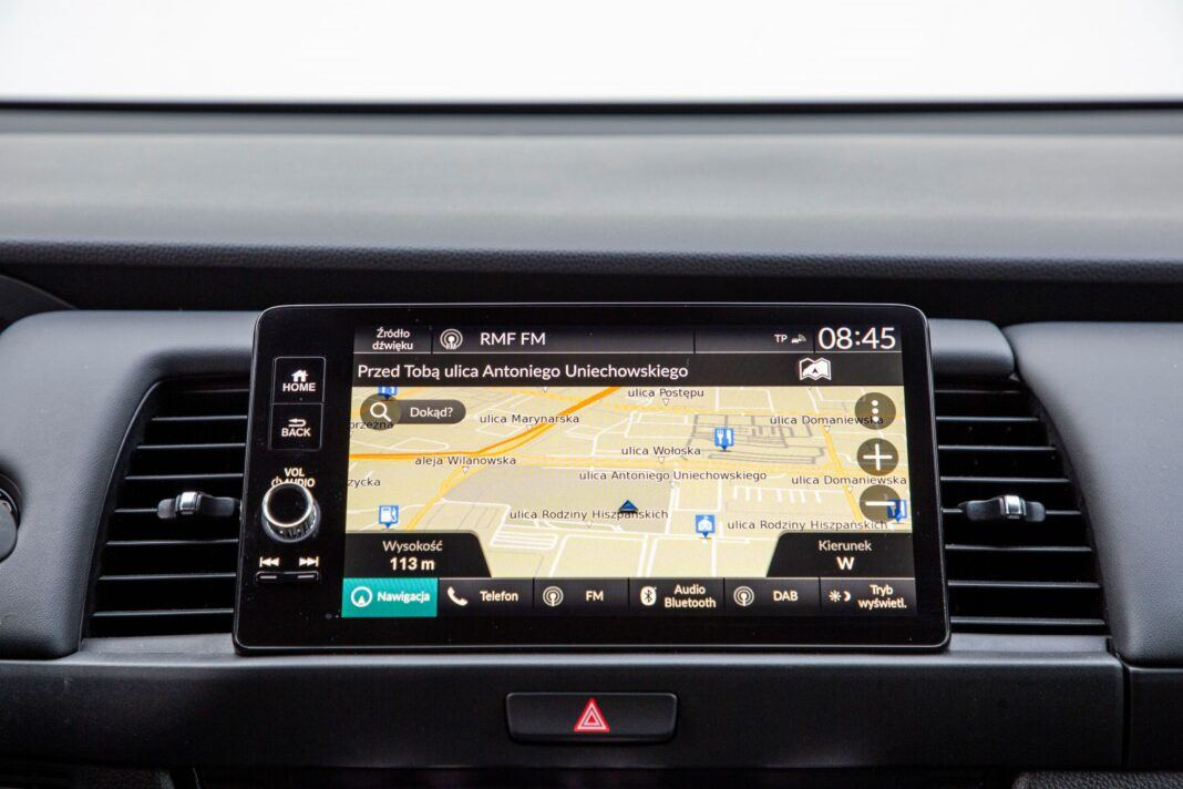 Honda Jazz - ekran