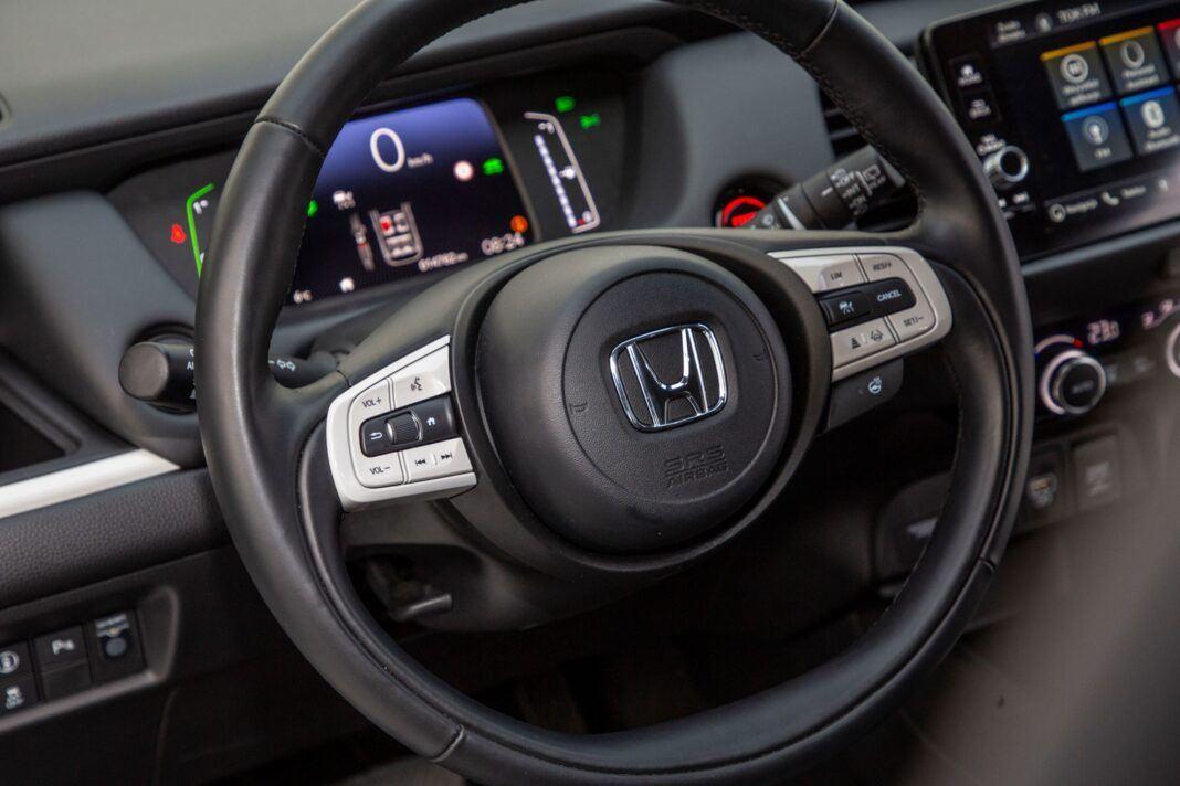Honda Jazz - kierownica