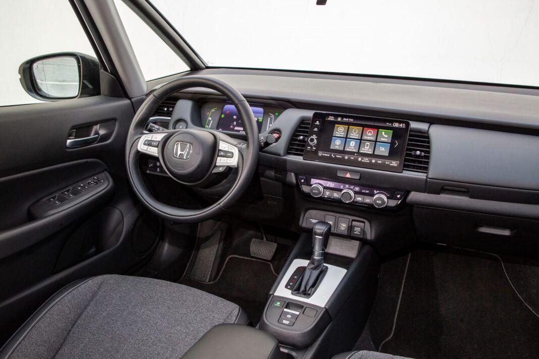 Honda Jazz - kokpit