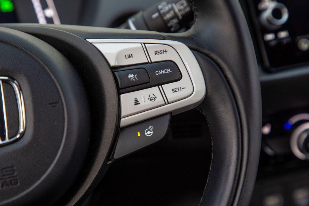 Honda Jazz - ogrzewanie kierownicy