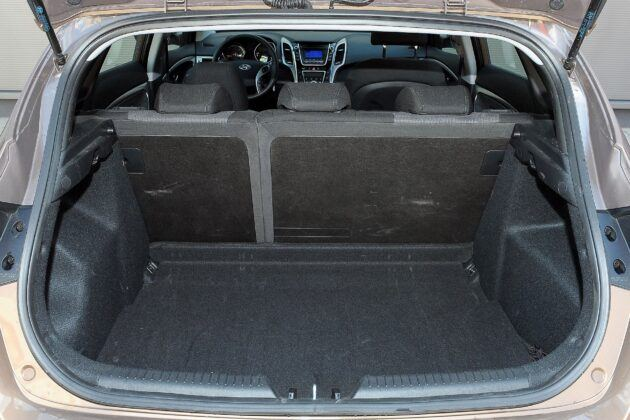 Hyundai i30 II bagażnik