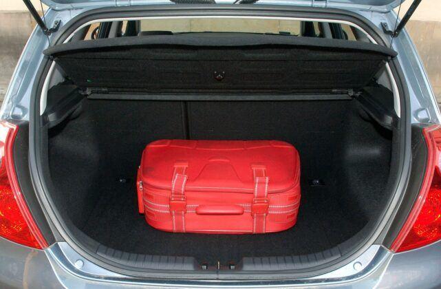 Kia Cee'd I bagażnik