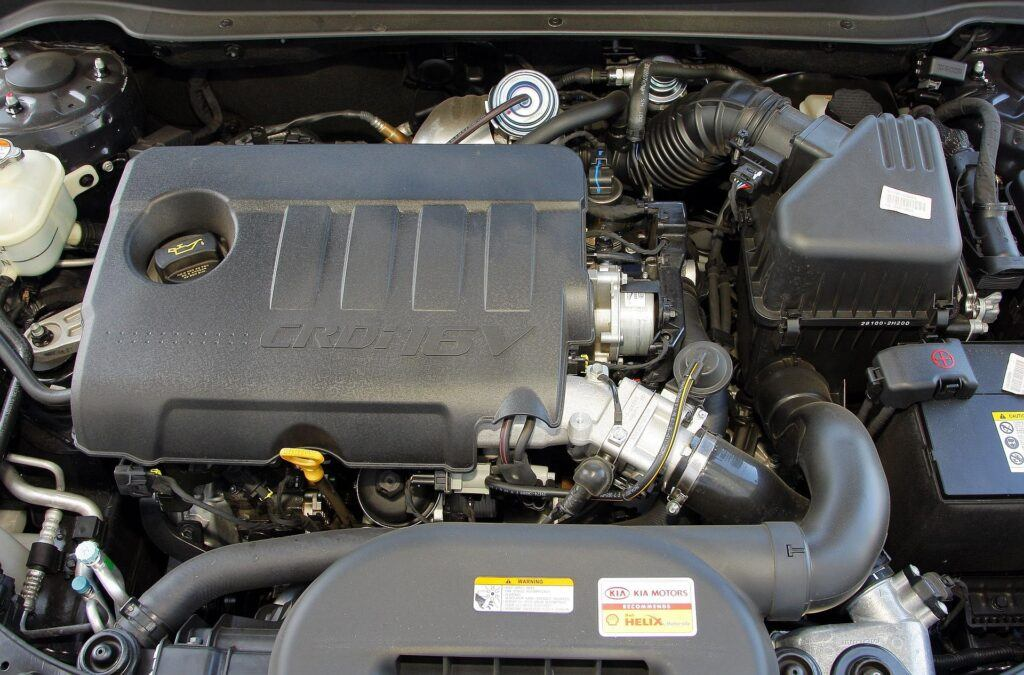 Kia Cee'd I silnik