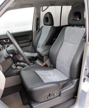 Mitsubishi Pajero III fotel kierowcy