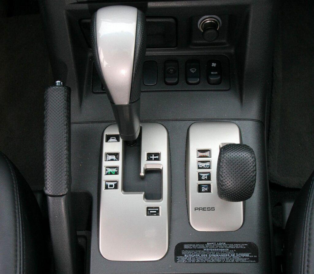 Mitsubishi Pajero III skrzynia biegów i napęd 4x4