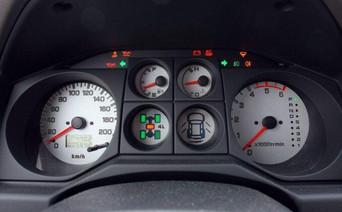 Mitsubishi Pajero III wskaźniki