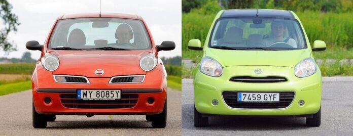 Nissan Micra K12 i Micra K13