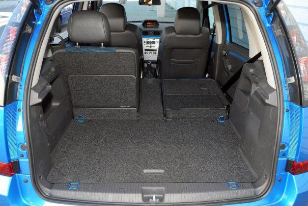 Opel Meriva A bagażnik
