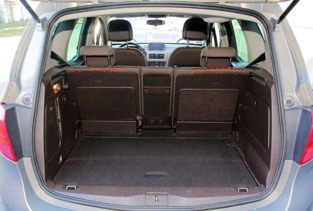 Opel Meriva B bagażnik