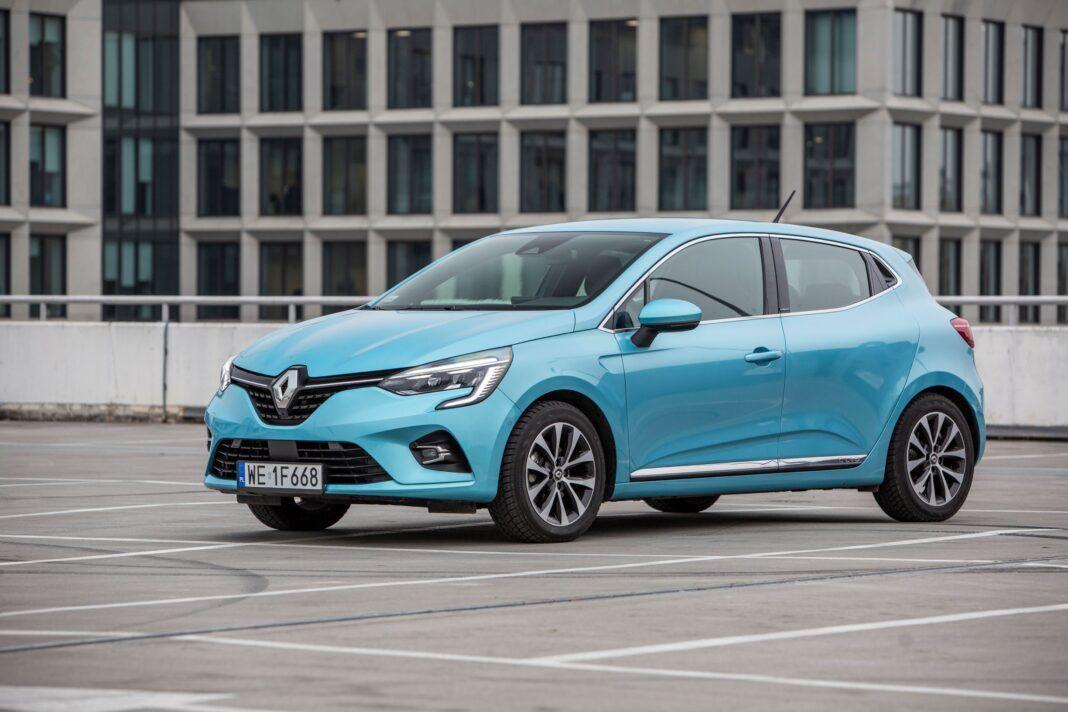 Renault Clio - lewy przód