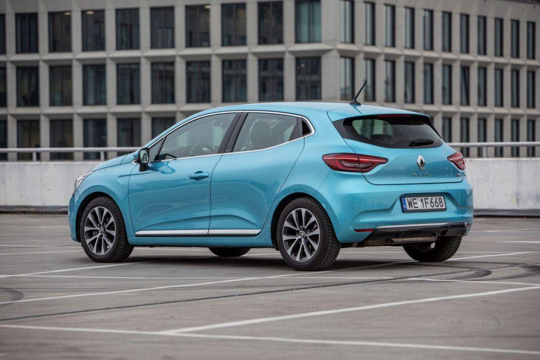 Renault Clio - lewy tył