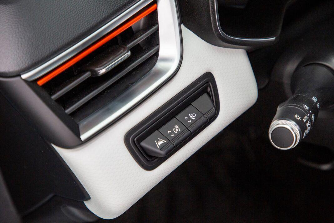 Renault Clio - przyciski