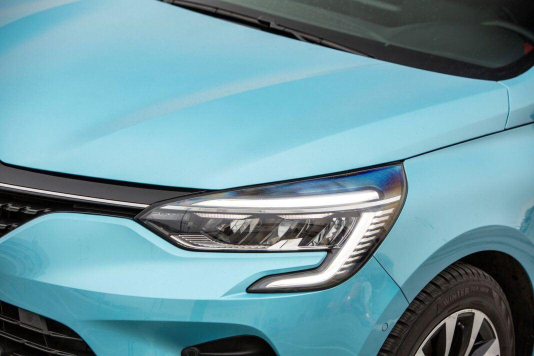 Renault Clio - swiatło
