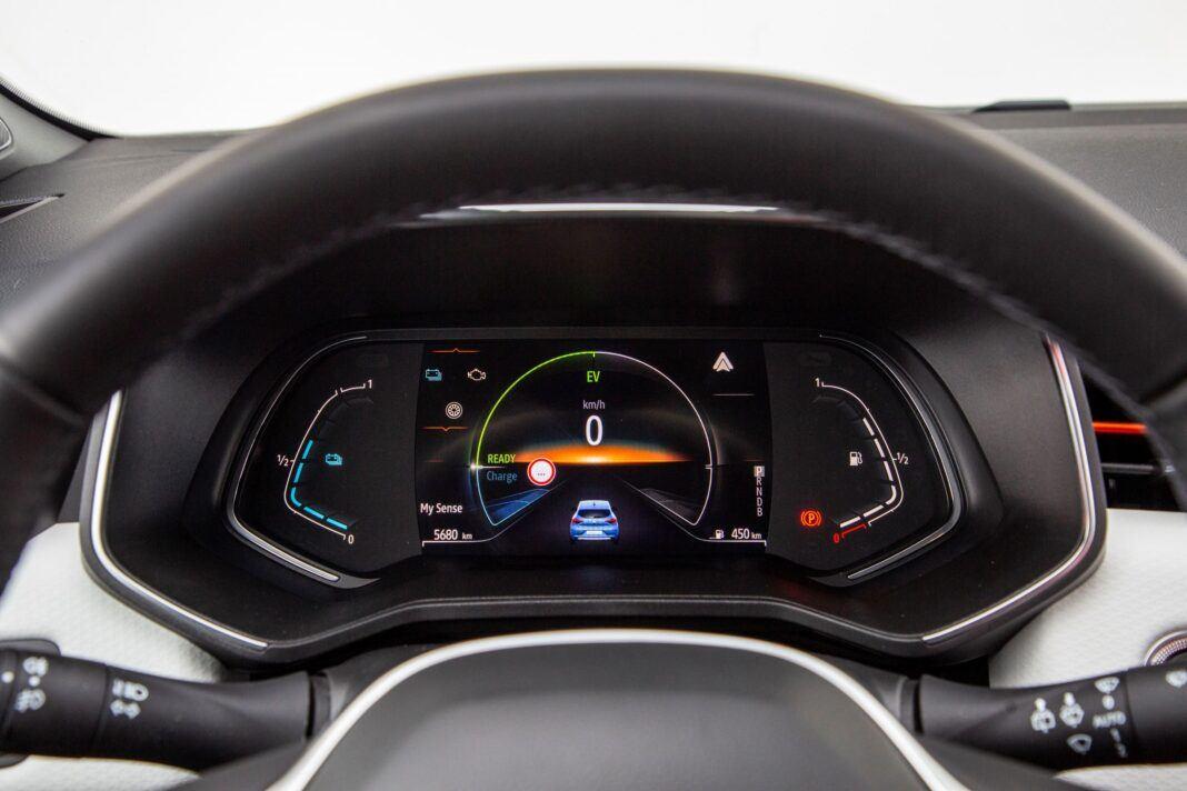 Renault Clio - zegary