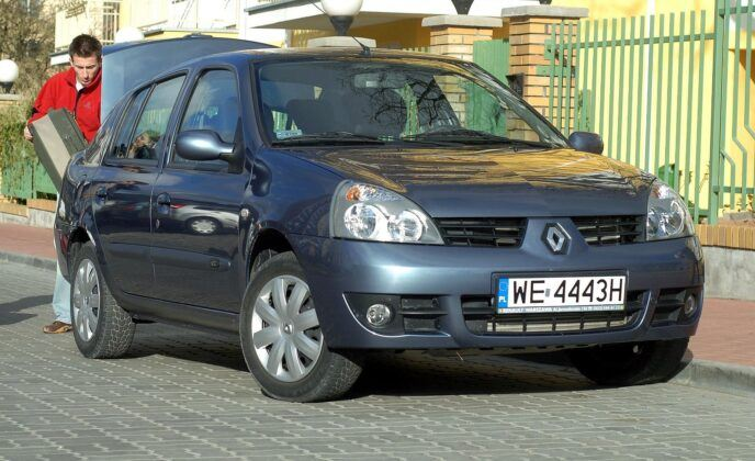 Renault Thalia I po 2 liftingu