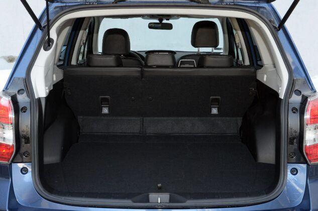 Subaru Forester IV bagażnik