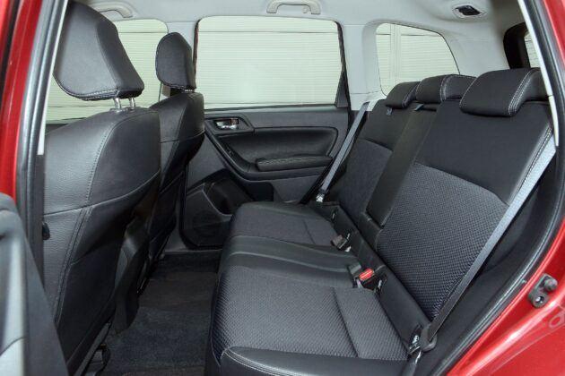 Subaru Forester IV kanapa