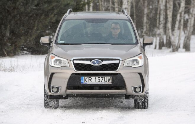 Subaru Forester IV przed liftingiem