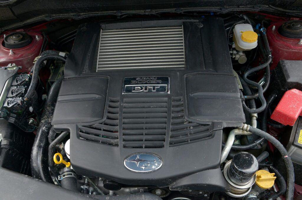 Subaru Forester IV silnik