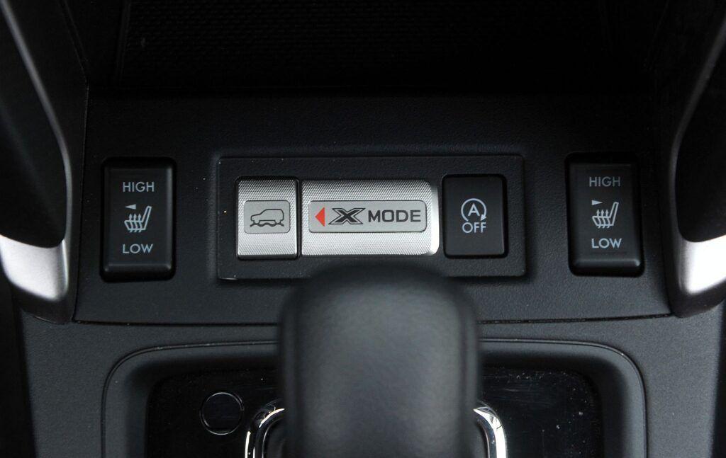 Subaru Forester IV tryb 4x4