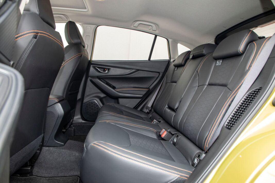 Subaru XV - kanapa