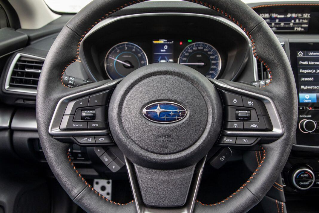 Subaru XV - kierownica