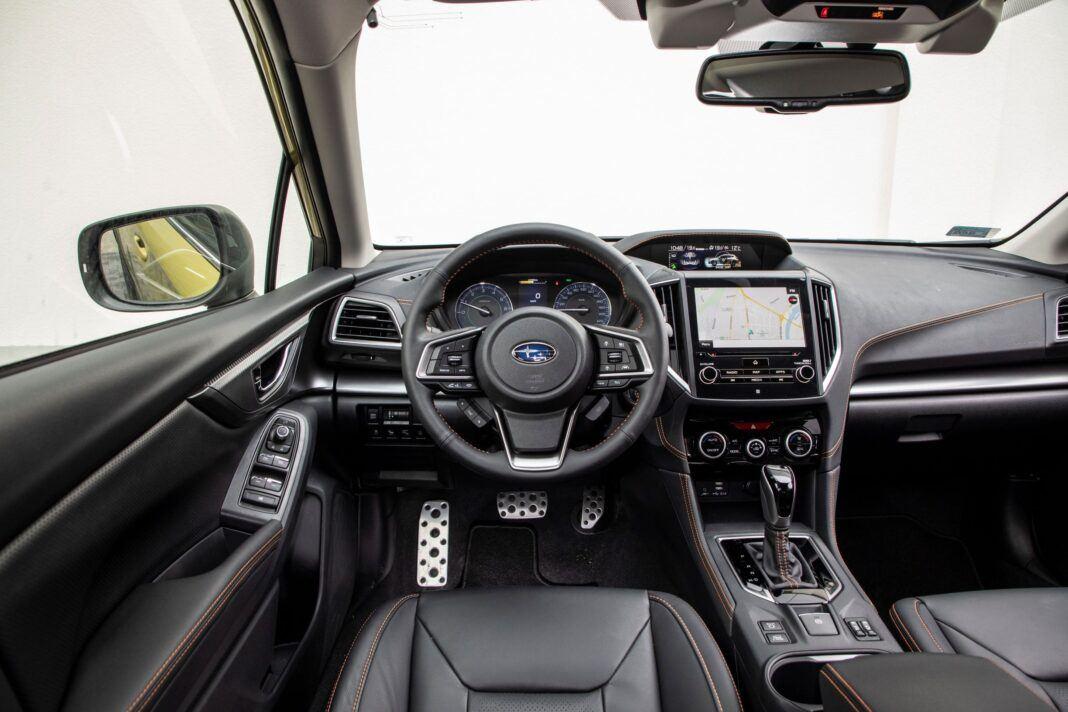 Subaru XV - kokpit