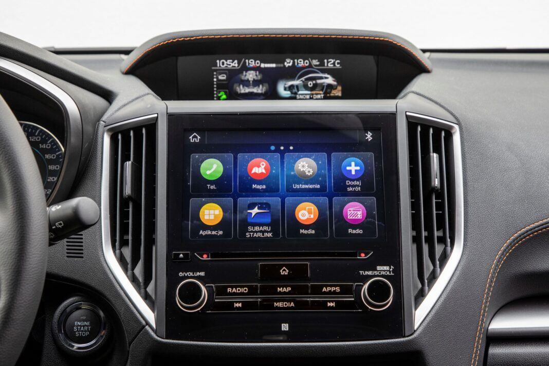Subaru XV - multimedia