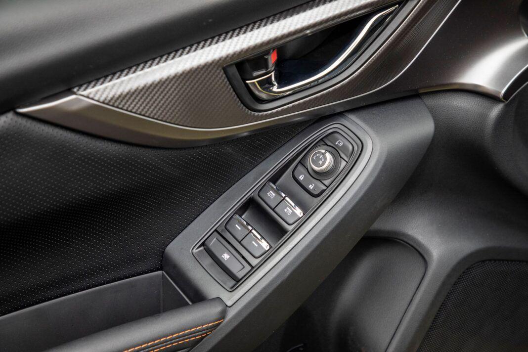 Subaru XV - panel szyb