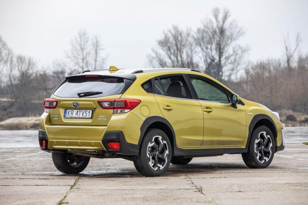 Subaru XV - prawy tył