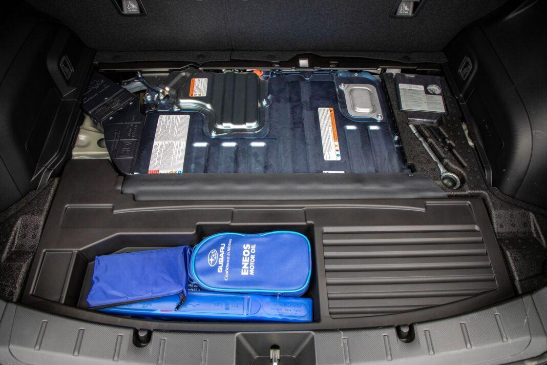 Subaru XV - schowek pod bagażnikiem