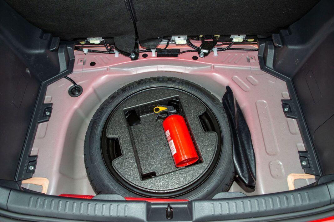 Toyota Yaris - bagażnik