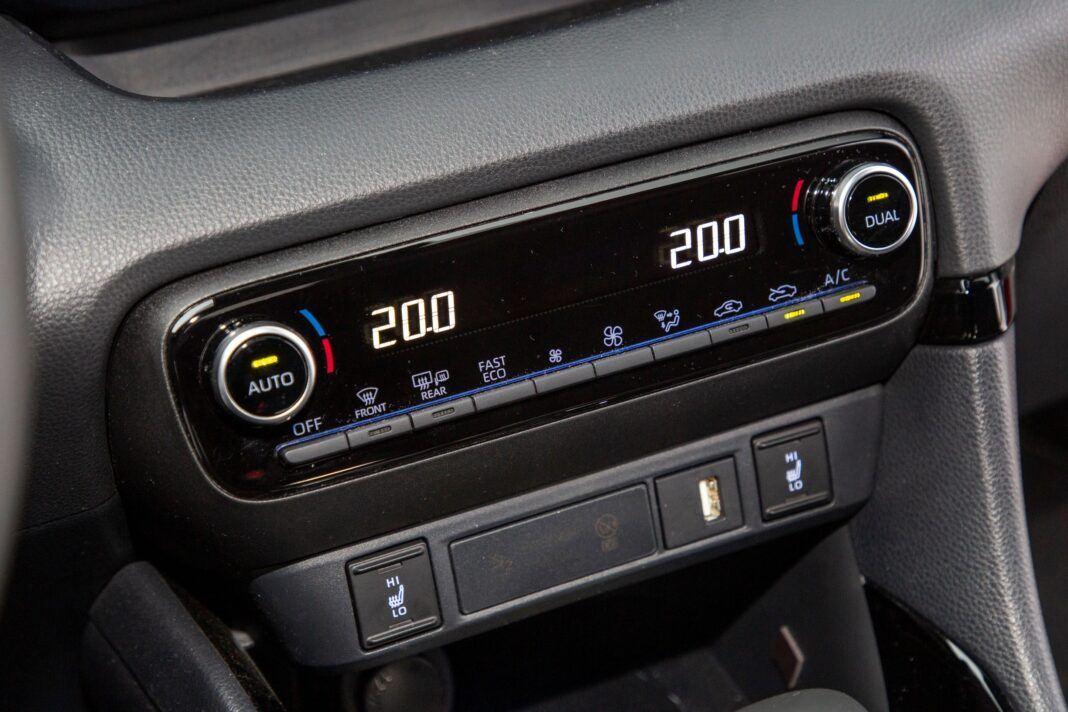 Toyota Yaris - klimatyzacja