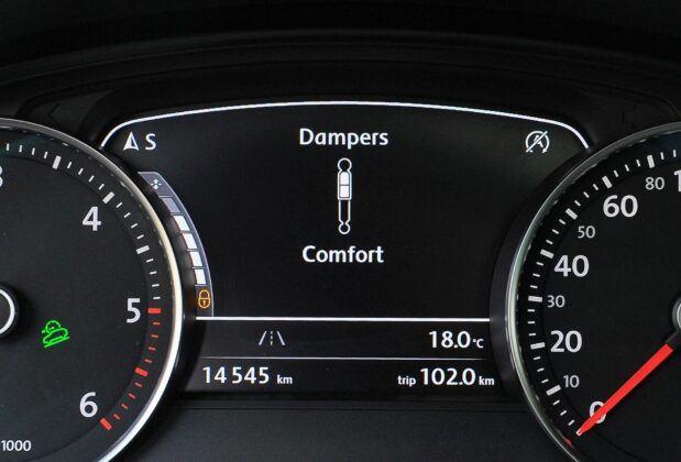 Volkswagen Touareg II amortyzatory