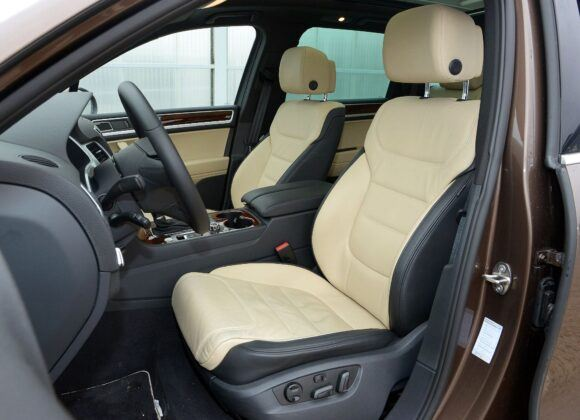 Volkswagen Touareg II fotel kierowcy