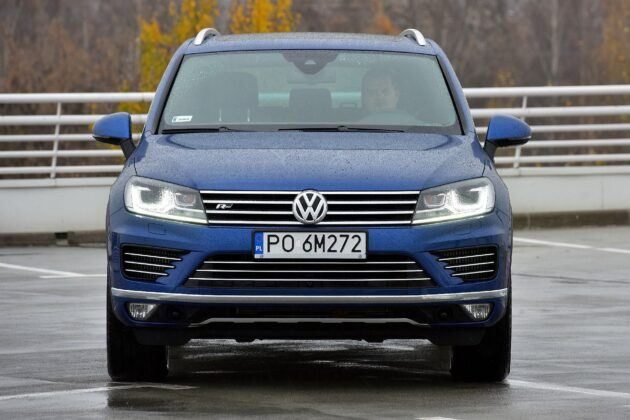 Volkswagen Touareg II po liftingu