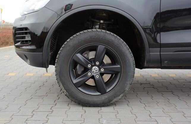 Volkswagen Touareg II zawieszenie pneumatyczne