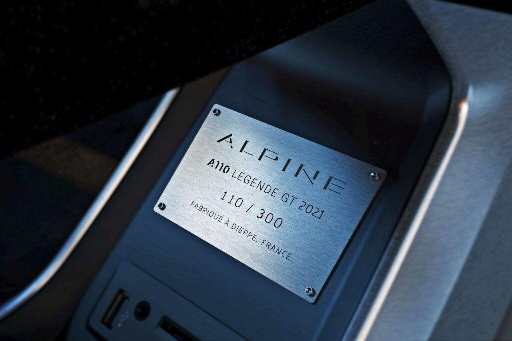 Alpine A110 Legende GT (2021)