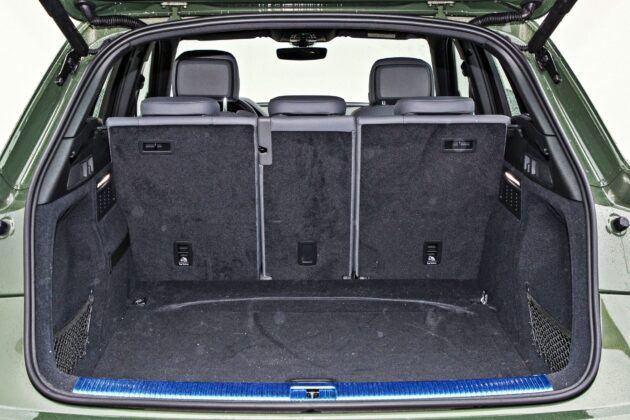 Audi Q5 - bagażnik