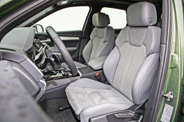 Audi Q5 - fotele przednie